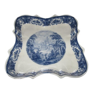 Staffordshire Square Serving Plate