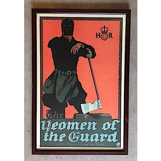 The Yeoman of the Guard Original Art Deco Poster, 1920's