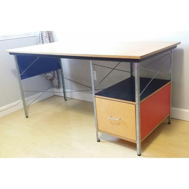 Original Eames Desk Unit From Herman Miller - Image 8 of 8