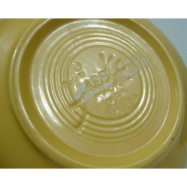 Rare Promotional Fiesta Yellow Salad Bowl - Image 7 of 7