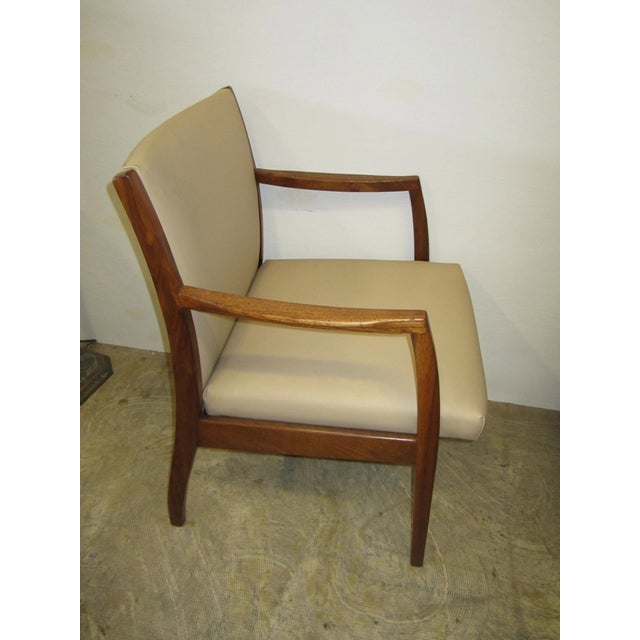 Jens Risom Mid Century Side Arm Chair Pair - Image 4 of 9