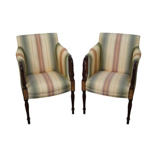 Vintage Amp Used Green Accent Chairs Chairish