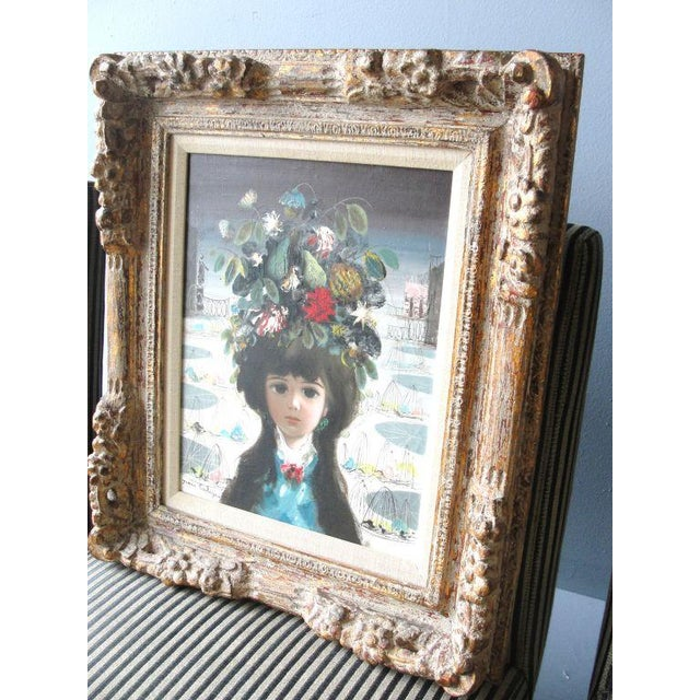 """Jean Calogero Oil Painting """"Patrizia"""" (signed) - Image 3 of 8"""