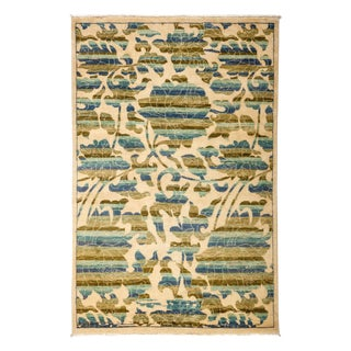 "Arts & Crafts, Hand Knotted Area Rug - 4'2"" X 6'2"""
