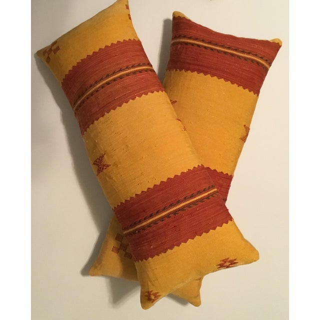 Moroccan Cactus Silk Pillow - A Pair - Image 8 of 11