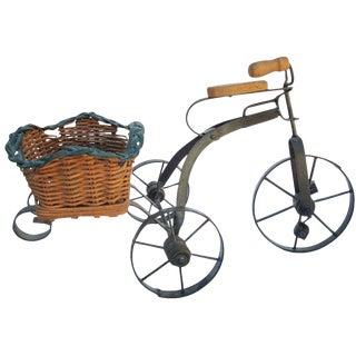Vintage Toy Metal Tricycle