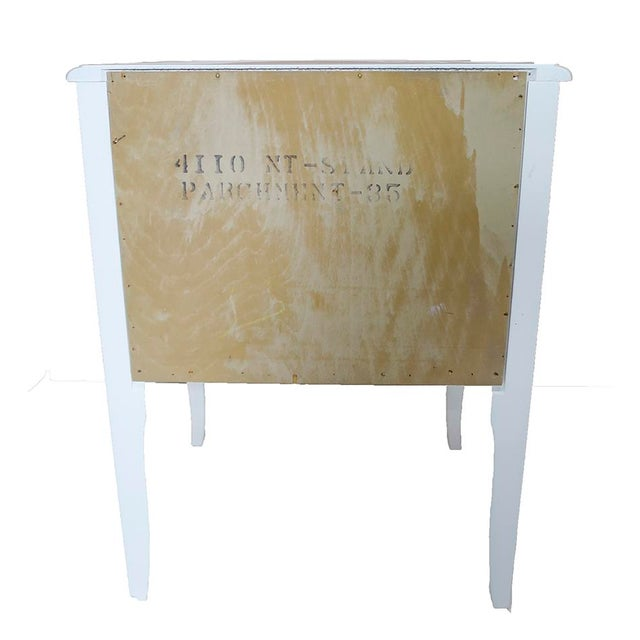 White French-Style Nightstands, Pair - Image 3 of 6