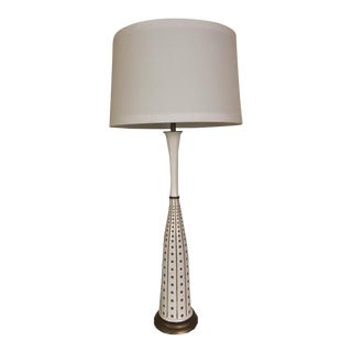 Mid-Century Italian Ceramic Table Lamp