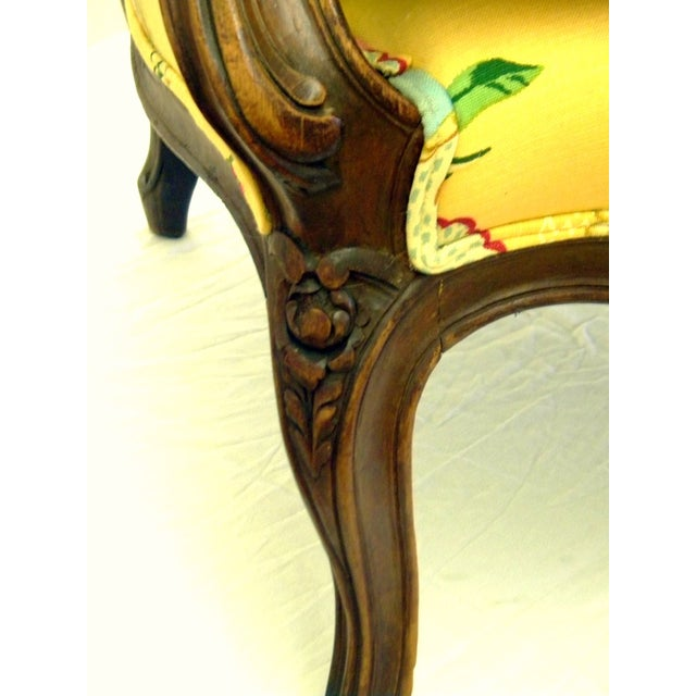Yellow Lady's Chair With Down Cushion - Image 5 of 7