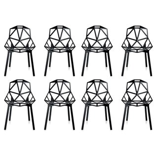 Magis Black Chair One - Set of 8