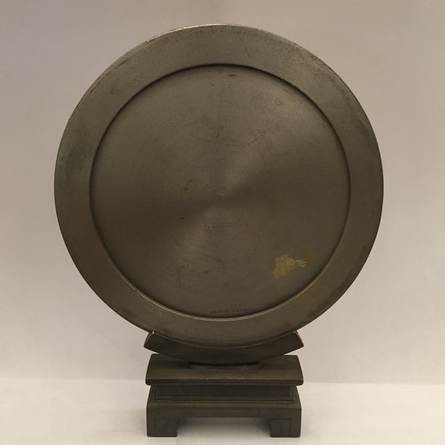 Selangor Pewter Collector's Asian Motif Plate - Image 3 of 11
