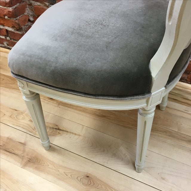 Swedish Gustavian Style Side Chair - Image 9 of 9