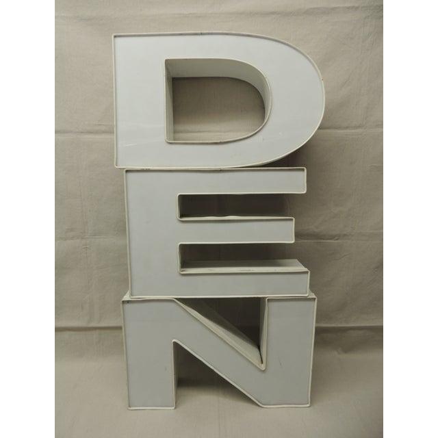 Image of Vintage Industrial Sign Letters