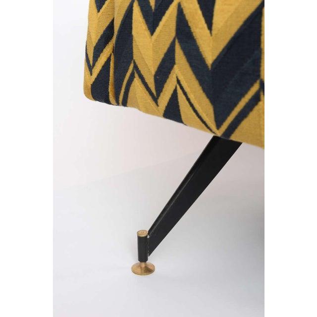 Original Pair of Lounge Chairs by Osvaldo Borsani - Image 5 of 6