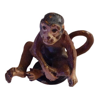 Austrian Bronze Monkey Figurine