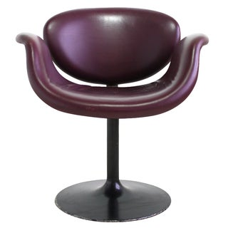 Pierre Paulin Tulip Leather Chair - 6 Avail.