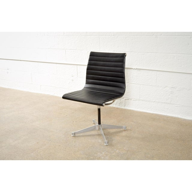 Original Eames for Herman Miller Aluminum Group Side Chair - Image 2 of 11