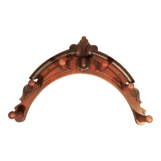 Victorian Wood Horse Tack Rack, late 19th Century,