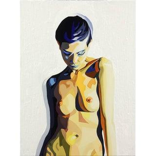 "Yi Shin Chiang Painting ""Thesis Study #9,"" 2014"