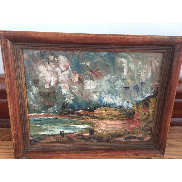 Wynn Breslin Landscape 1960s Oil Painting - Image 5 of 7