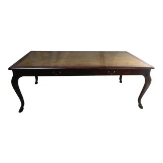 Pied Adere Style Mahogany Desk