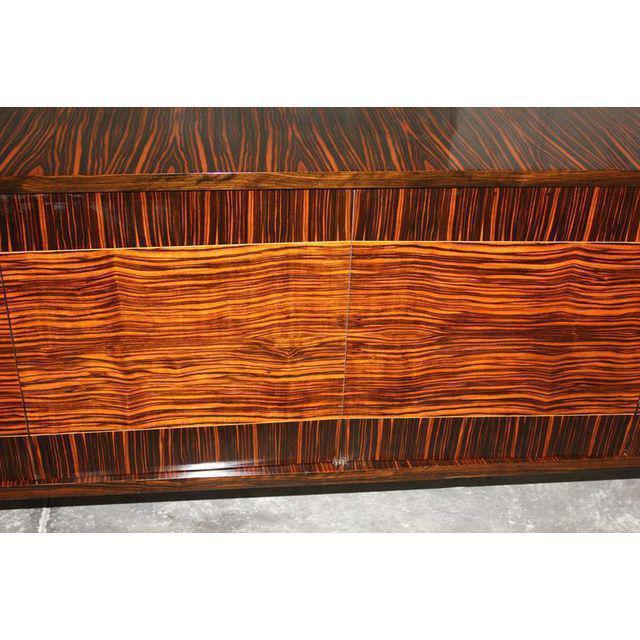 Image of French Art Deco Macassar Ebony Sideboard