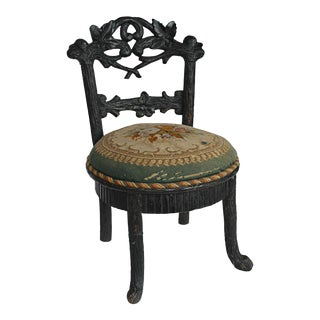 19th Century Black Forest Child's Chair