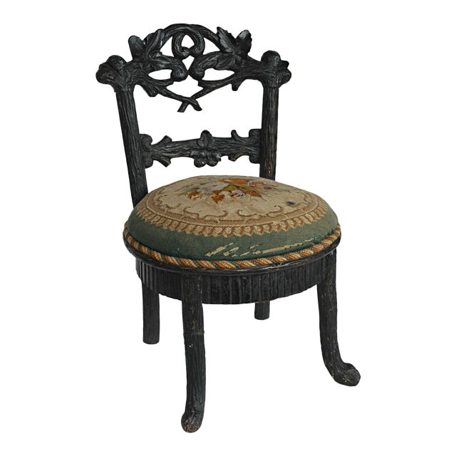 19th Century Black Forest Child's Chair - Image 1 of 10