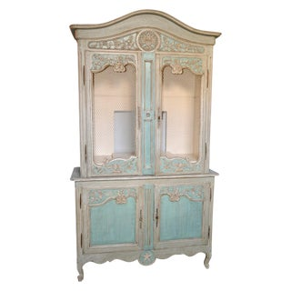 19th C. French Painted Buffet de Corp
