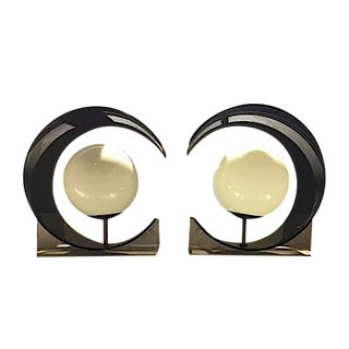Mod Orb Table Lamps - A Pair