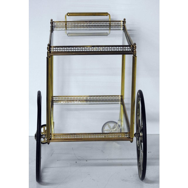 Image of French Modern Rolling Bar Cart