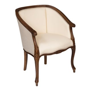 Sarreid LTD Ivory Beechwood Accent Chair