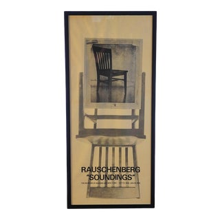 Rauschenberg Soundings-MoMA, NY Poster