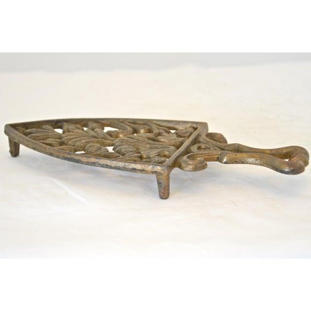Antique Cast Iron Trivet - Image 4 of 4