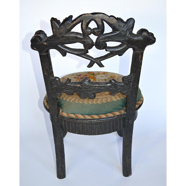 19th Century Black Forest Child's Chair - Image 7 of 10