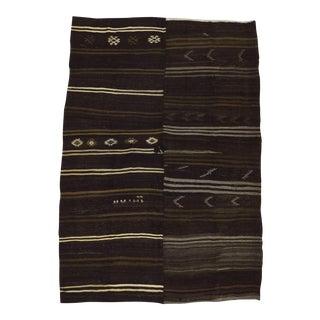 Striped Turkish Kilim Rug - 7′10″ × 11′2″