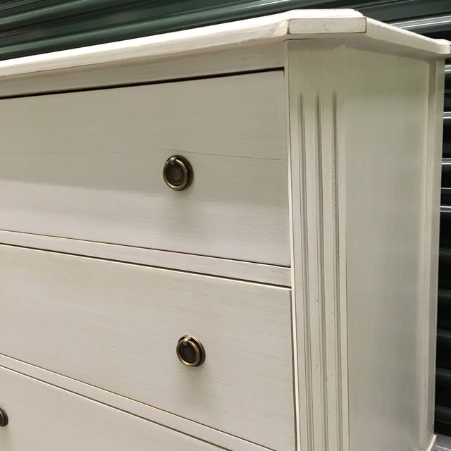 Swedish Gustavian Style Chest of Drawers - Image 3 of 11