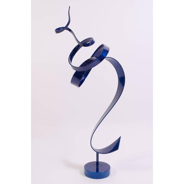 Charybdis by Joe Sorge, Powder Coated Steel Sculpture - Image 5 of 10
