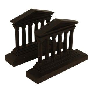Roman Ruins Bookends - A Pair
