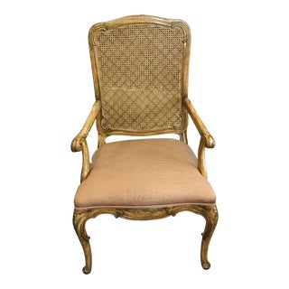 Madeleine Armchair With Cane Back