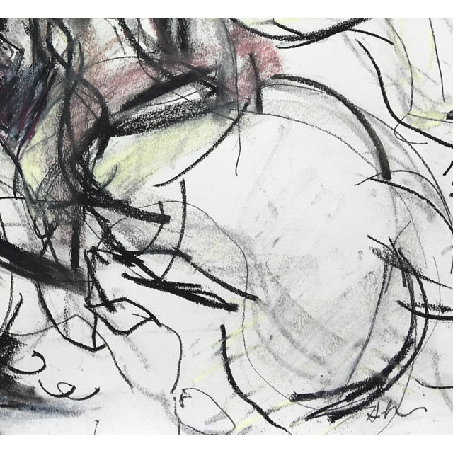Polo Player #4 Abstract Drawing - Image 2 of 4