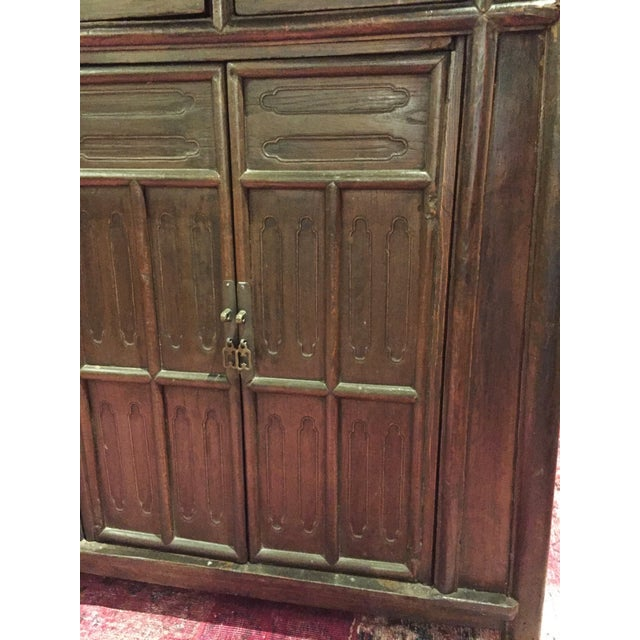 Chinese Antique Tapered Cabinet - Image 7 of 11