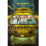 """Image of """"The Life Aquatic"""" With Steve Zissou Movie Poster"""