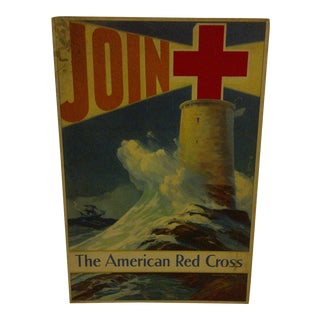 Vintage American Red Cross Poster by Howard Smith