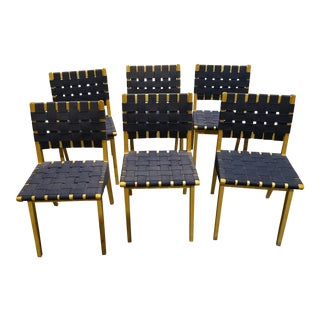 Knoll Risom Chairs - Set of 6