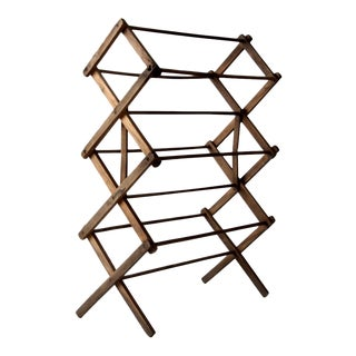 Antique Wooden Drying Rack