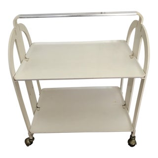 Mid-Century Springer Style Rolling Trolley