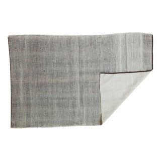 """Vintage Reversible Wool Rug - 4'2"""" x 6'5"""""""