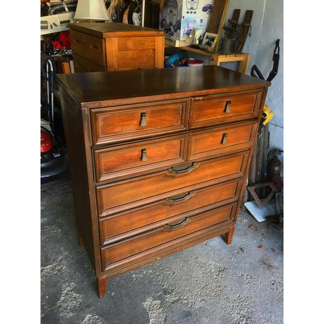 Mid-Century Side Board Credenza & Dresser - Set of 2 - Image 4 of 4