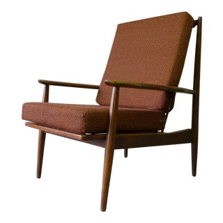 Mid Century Modern High Back Lounge Chair